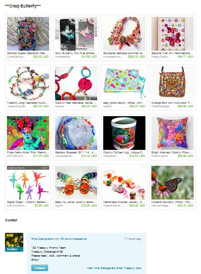 Colorful Collection of creations for sale on Etsy