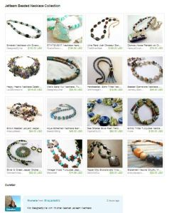 Capture Jetteam Beaded Necklace Collection