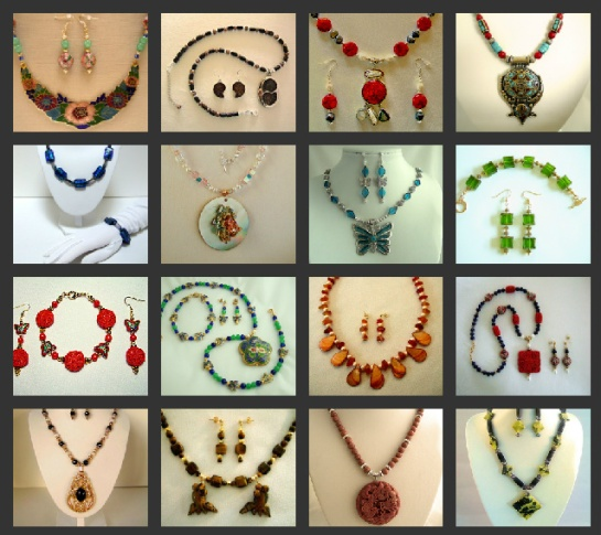 Foto Flexer photo collage of my jewelry