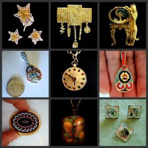FotoFlexer_Photo Vintage Jewelry group 1