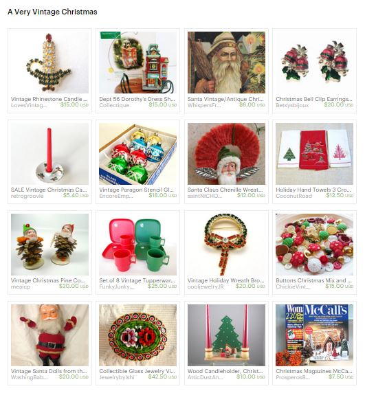Capture Mollie Christmas treasury