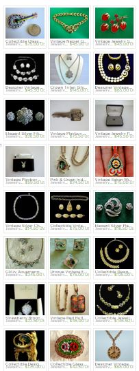Capture my Vintage jewelry