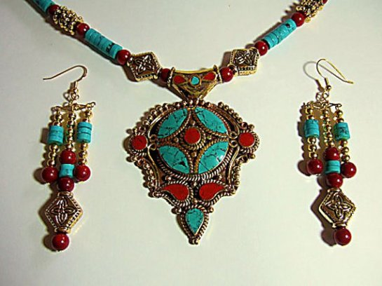 Tibetan necklace 1